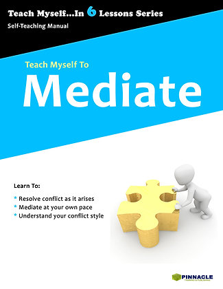 Teach Myself To Mediate... LEADERSHIP 10 PACK