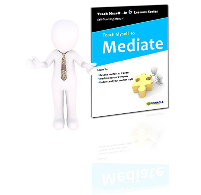 Teach Myself To Mediate Peer Mediation Training Guide, Books on mediation, workplace conflict