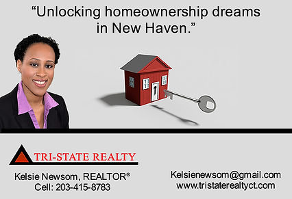 Kelsie Newsom of Tri-State Realty New Haven, Connecticut