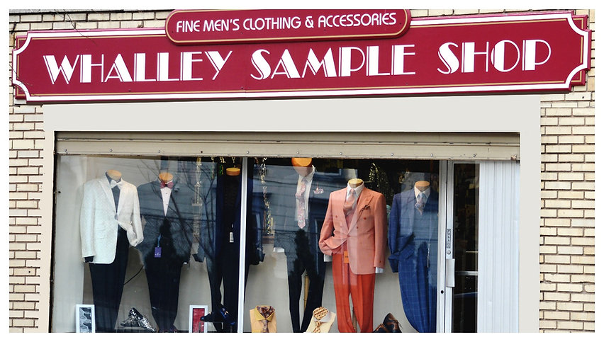 Whalley Sample Shop New Haven Men's Clothing New Haven County