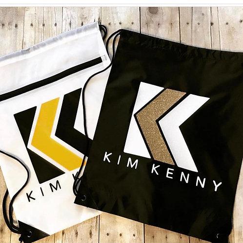 Kim Kenny Drawstring Bag