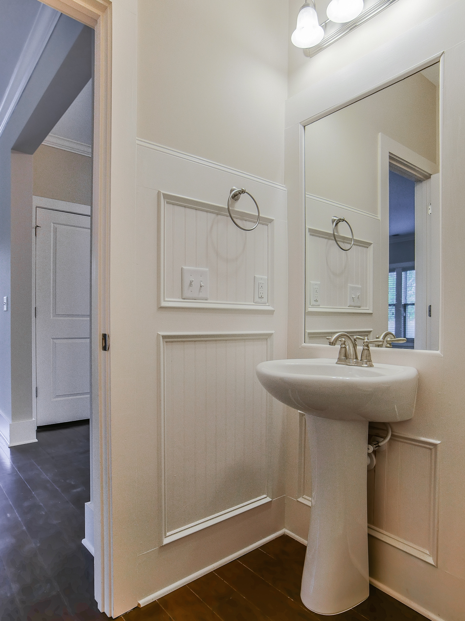 Powder Room on First Floor
