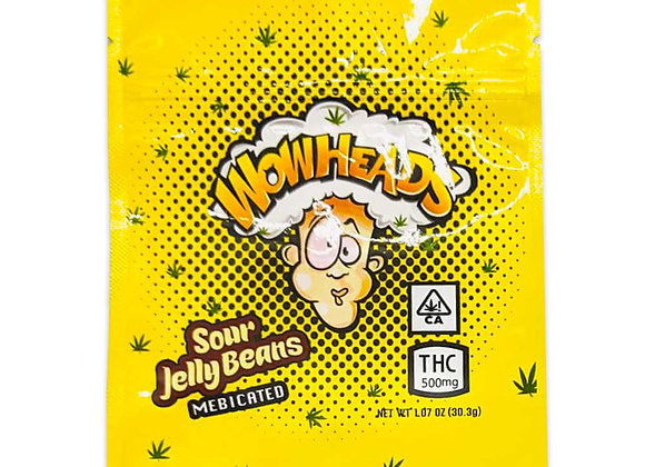 Wowheads(500mg) Sour Jelly Beans