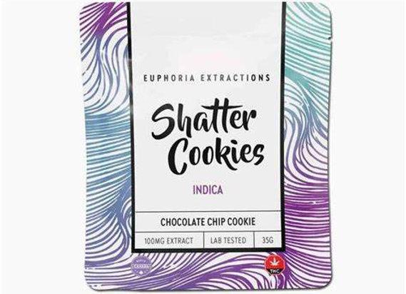Euphoria Extractions Indica Cookie - 100mg THC