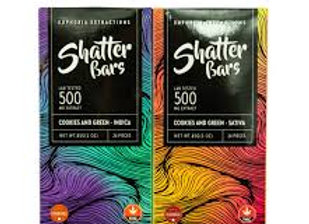 Euphoria Extractions Shatter Bars (500mg)