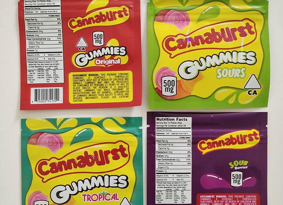 Cannaburst Gummies (Tropical)