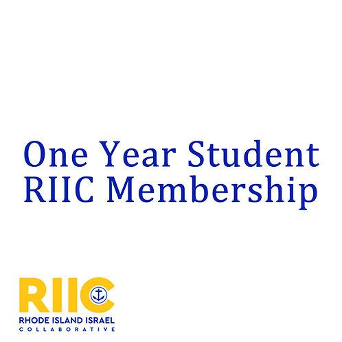 One year Student Membership