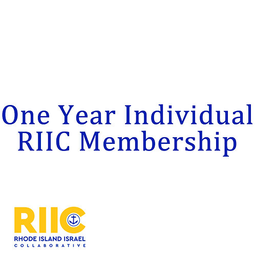 One year Individual Membership