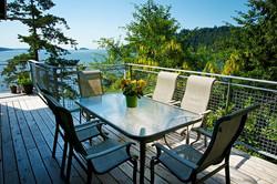 Dining deck seaside