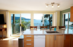 kitchen with waterfront views (1)