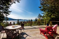 Evergreen-large deck with water views - darker