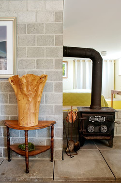Suite wood stove