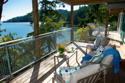 private covered waterfront decks with lounge seat (2)