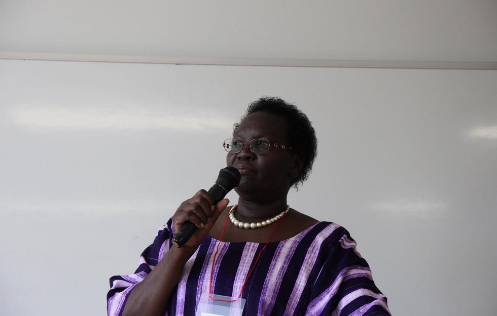 Ugandan ambassador to Japan_ Ms Betty