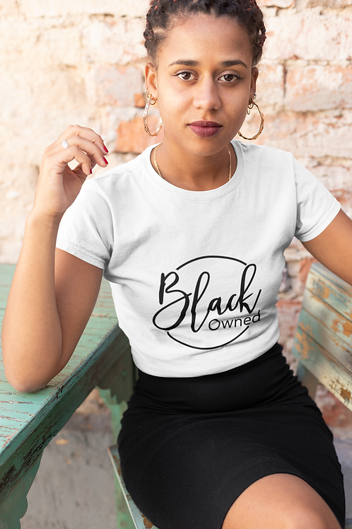 """Black Owned"" T-shirt"