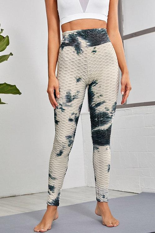 Tie Dye Sports Textured leggings