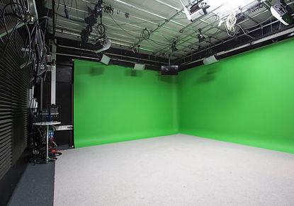 Studio 2. Greenscreen