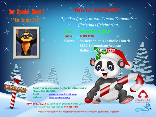 2019 Kentra Care Angel Tree Invitation f