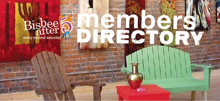 Bisbee After Five Members Directory