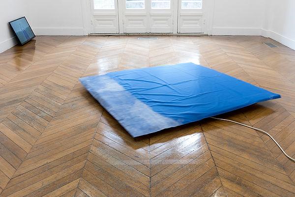 'Les Limbes' curated by Caterina Riva, 2016, La Galerie, contemporary art center, Noisy-le-Sec/Paris. Photo: Pierre Antoine.