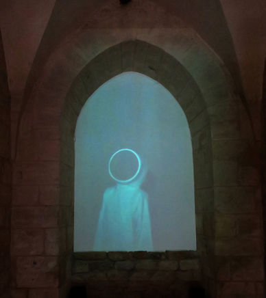 Anne Noble, Moonlight, Abbaye de Noirlac, France. Photo: Pauline Autet