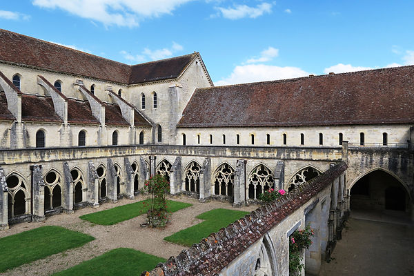 Cloister of the Abbaye de Noirlac, France. Photo: Pauline Autet