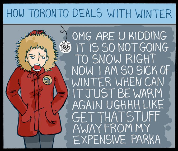 wah it's winter