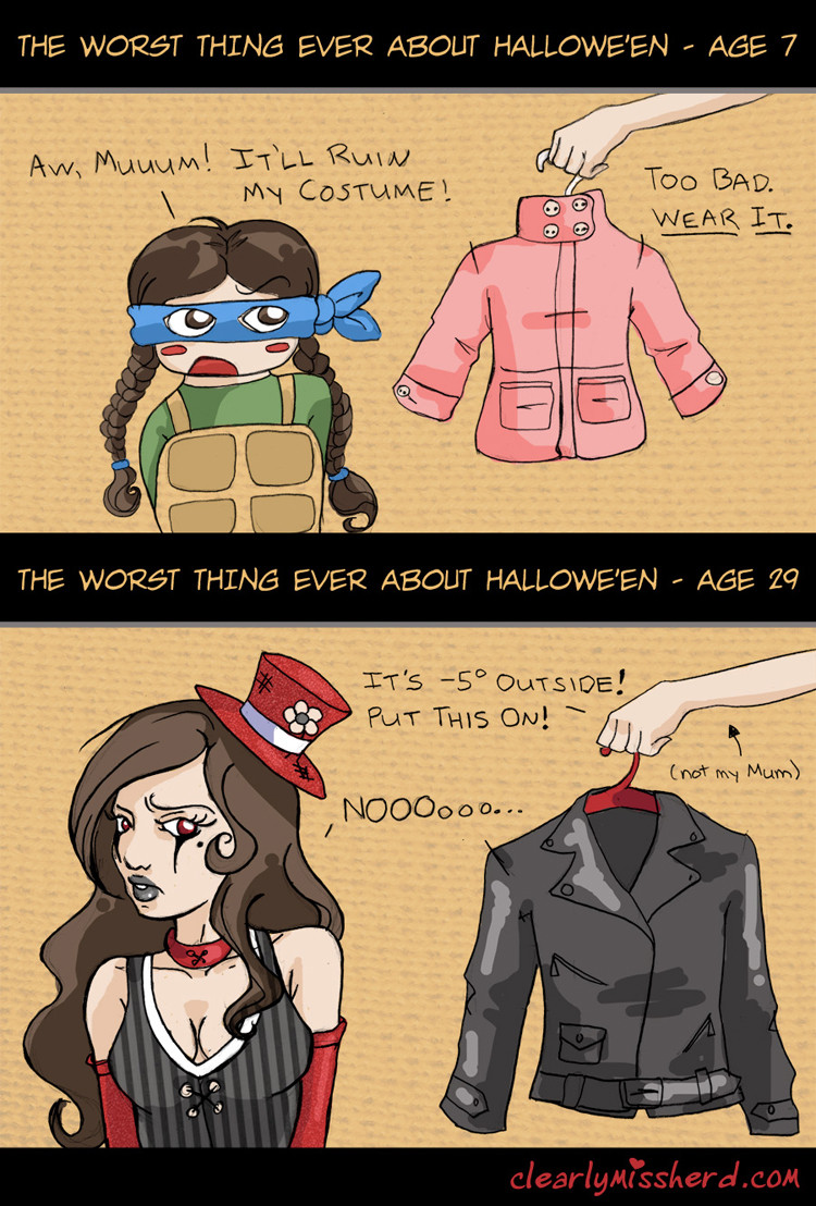 costume woes