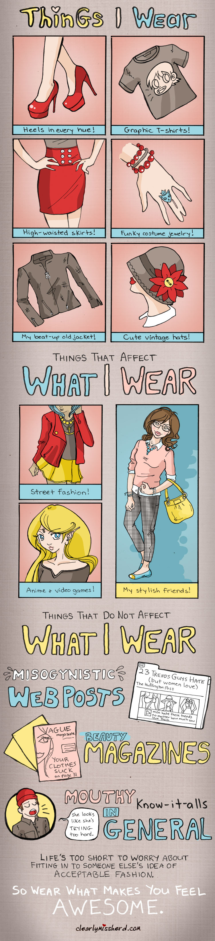 clothes I like that you don't have to like kay