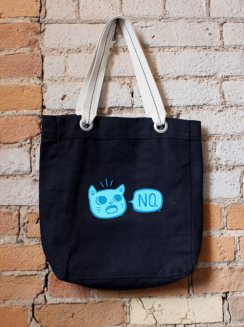 Kitty Says No - Tote Bag
