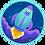 Thumbnail: Rocket Kitty - Sticker