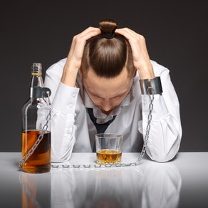 I came across a situation this week where a couple is struggling with one partner's alcohol addictio