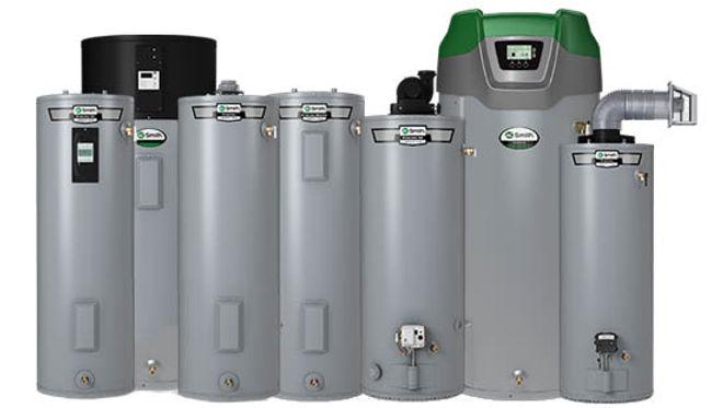 Gas Water Heaters Electric Water Heaters Hybrd Water Heaters Power Vent Water Heaters Tankless Water Heaters