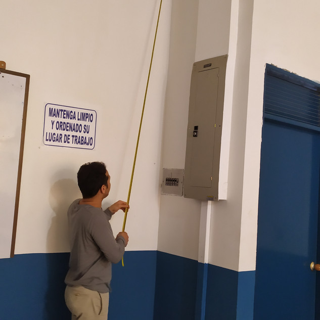 Measuring height for hosting of secondary pendulums