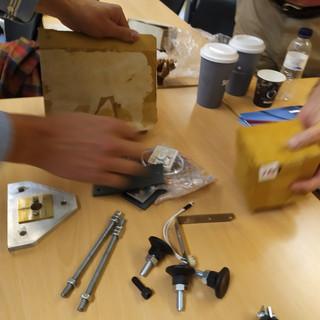 WP - Parts before Assembling