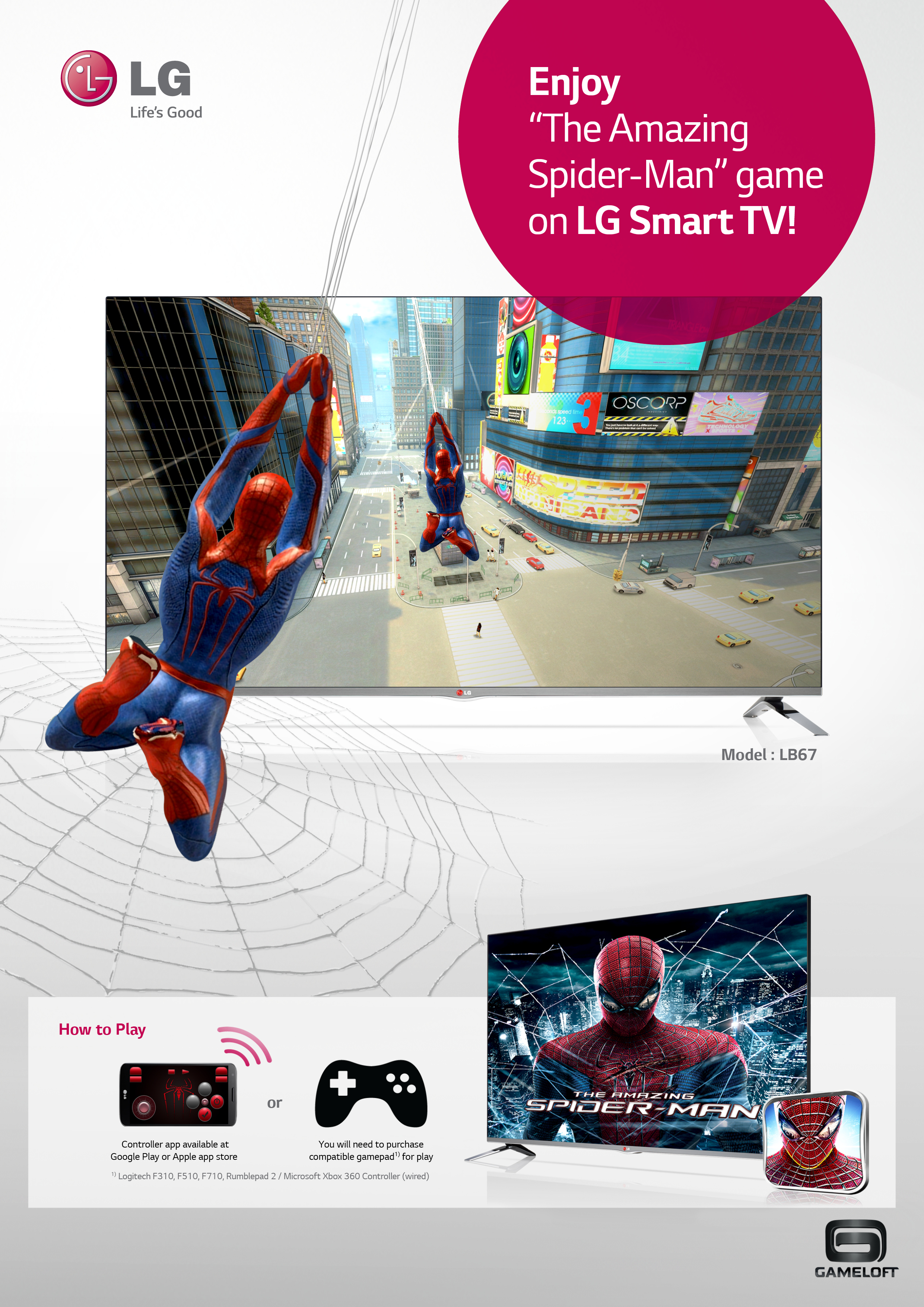 LG Smart TV game