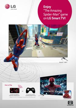 LG Smart TV game
