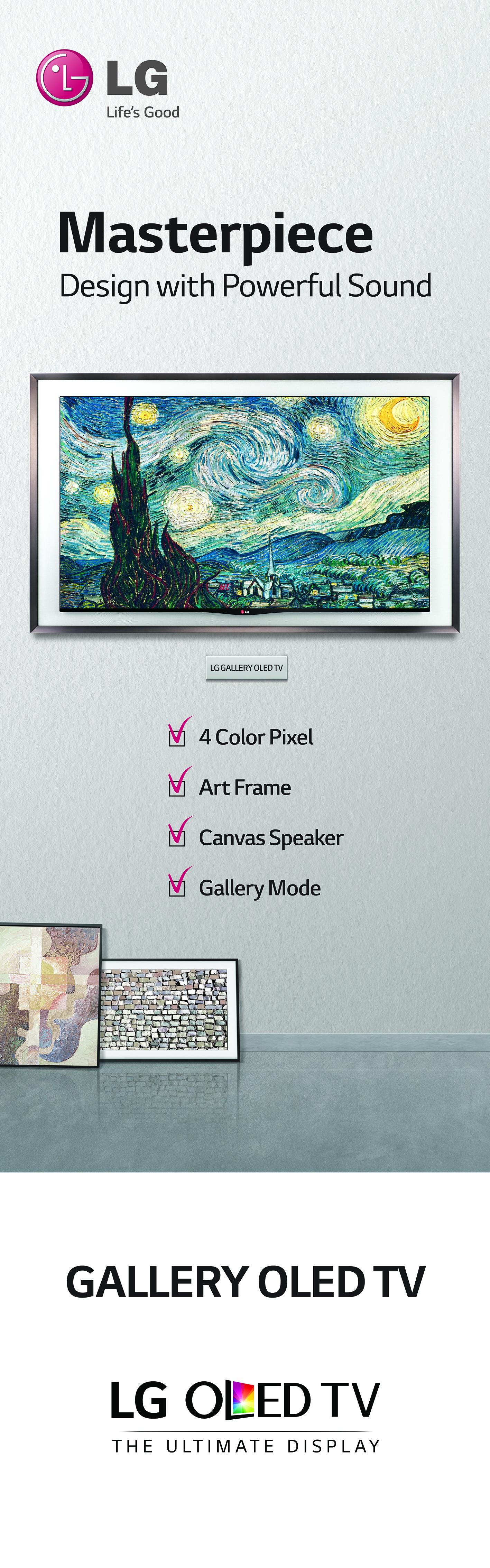 LG Gallery TV