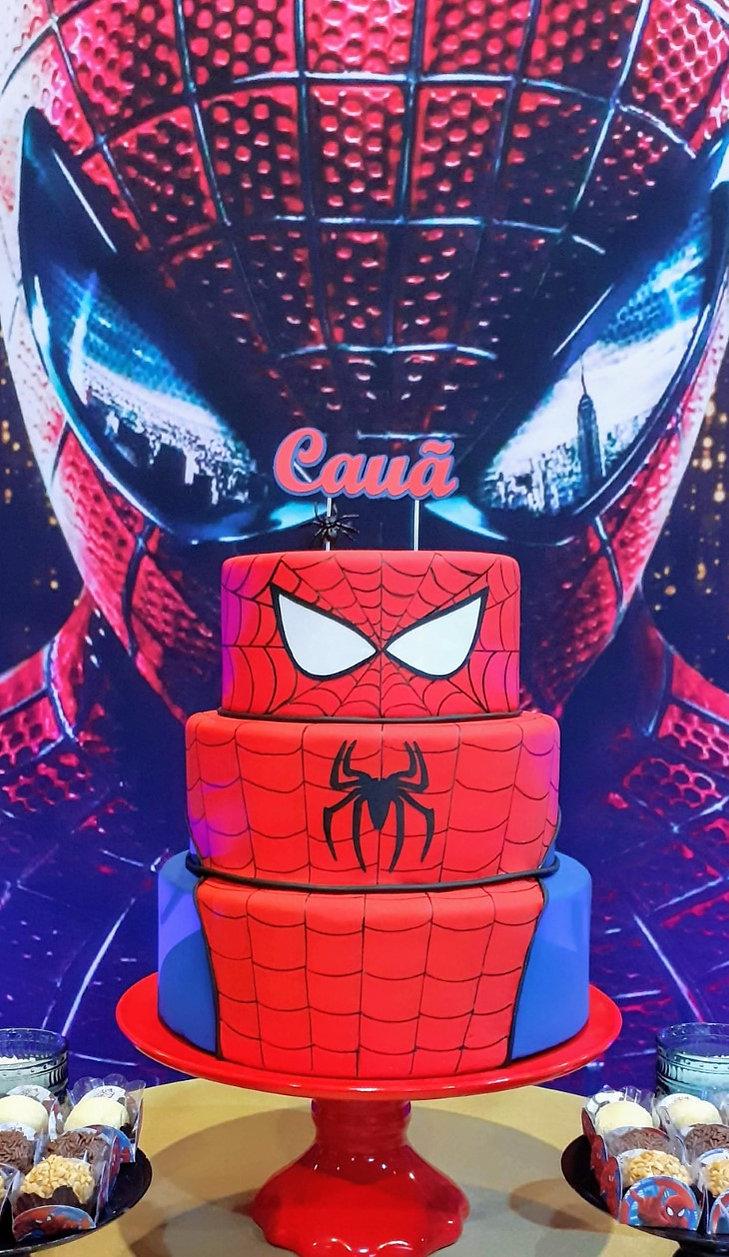 decoração festa homem aranha (9).jpg