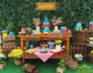 decoração-festa-galinha-pintadinha-agath