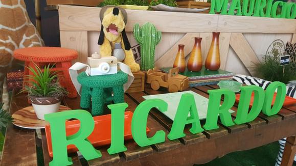 decoração festa mickey safari (5).jpg