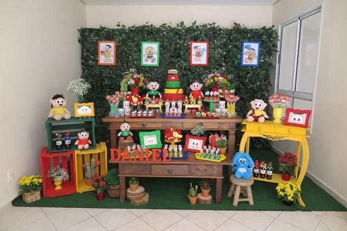 decoração festa turma da monica  (5).JPG