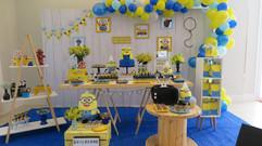 decoração festa minions (13).jpg