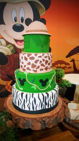 decoração festa mickey safari (1).jpg