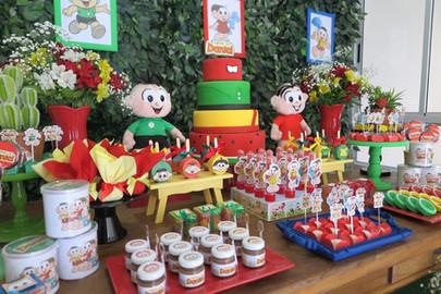 decoração festa turma da monica  (7).JPG