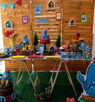 decoração_festa_galinha_pintadinha_madei