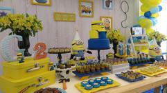decoração festa minions (11).jpg