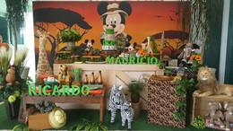 decoração festa mickey safari (9).jpg