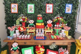 decoração festa turma da monica  (9).JPG