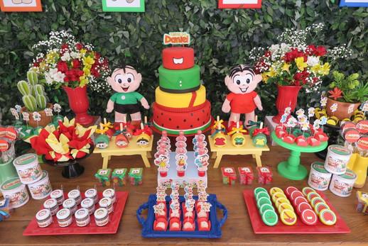 decoração festa turma da monica  (8).JPG